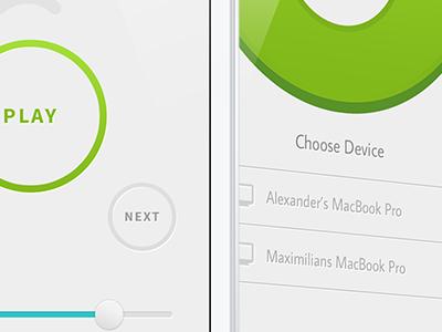 Spotmote for iOS spotmote spotify app ios ui remote icon logo music