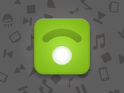 Spotmote iOS Icon ios icon iphone app spotify