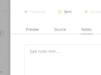 Web App UI Preview