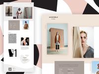 Fashion retail website