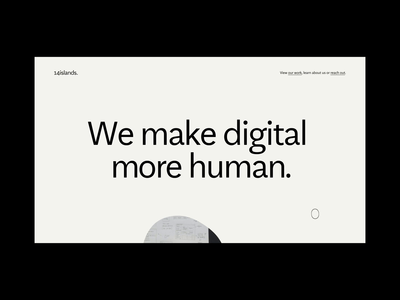 14islands About Page digital creative studio agency people blob scroll about branding web design website interactive webgl ux ui animation