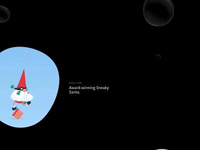 Underwater Lab mouseover hover digital portfolio creative hack underwater bubble blob web studio webgl design website interactive animation