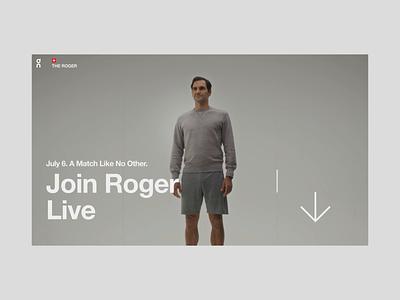 The Roger loader developers development web motion website interactive animation