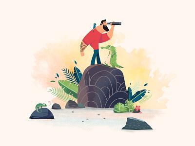 Floripa Game - Work in Progress progress levels adventure brazil character play illustration studio design animation