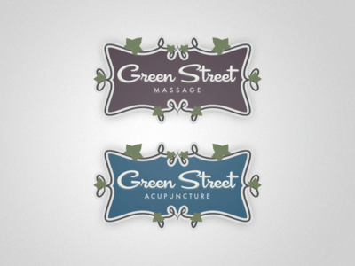 Green Street Acupuncture - Sibling Logo