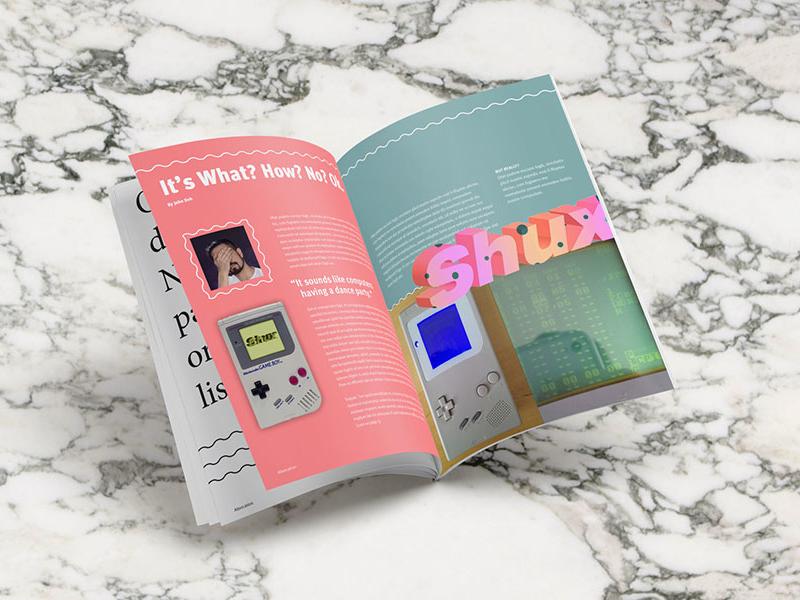 Altercation Magazine - Shux - Layout magazine editorial layout
