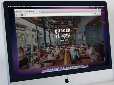 Burger Website