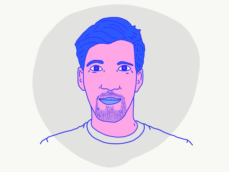 Jamie - Sprint board avatar illustrator photoshop indesign print flyt flypay