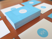 KirHu business cards