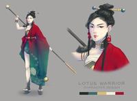 Lotus Warrior Concept