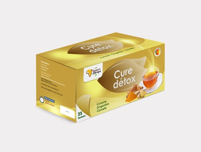 Cure détox packaging