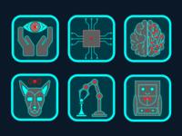 AI icons