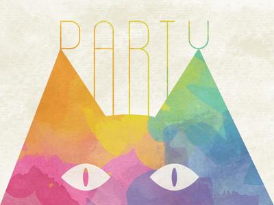 Crazy Cat Lady Birthday Party Invite