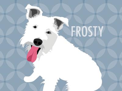 Illustration of Frosty Dog