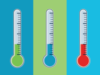 Thermometer Color Variations