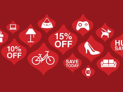 Overstock.com Holiday Sales Graphic