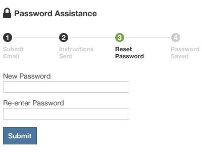 Overstock.com Password Reset Steps