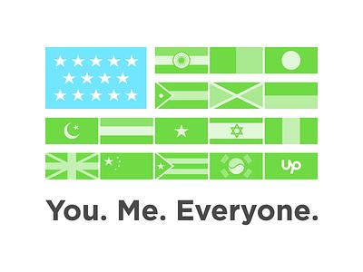 Diversity  peace nations community flag world unity politics equality usa multi-culture upwork diversity