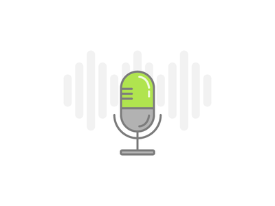 Voice-over icon stereo audio voice over upwork job skill record recording speech microphone voice voice-over