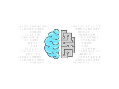 Artificial Intelligence artificial intelligence machine learning illustration power mind robot brain skill icon tensorflow