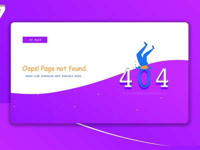 404 ERROR!! UI DESIGN | 007