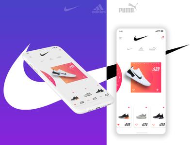 Nike E-commerce Design   012