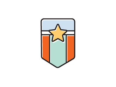 Product Leadership Icon banner badge product leadership offset icon