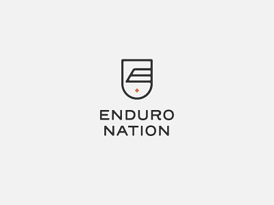 Enduro Nation triathlon identity tri club shield club endurance logo badge