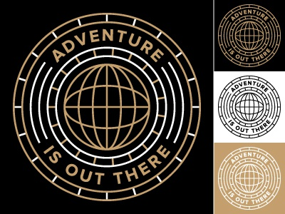 Adventure Is Out There badge colors