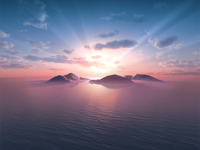 Island Sunrise 2