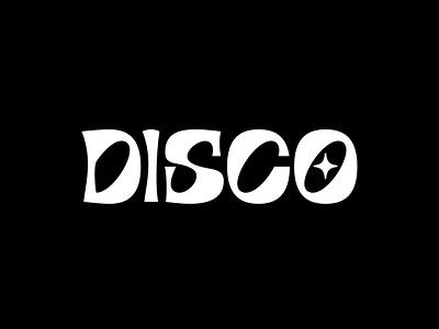 DISCO Branding illustration typography type logo branding