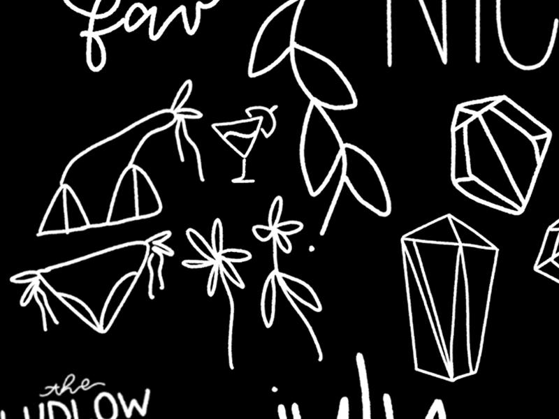 03.12 doodles illustration digital