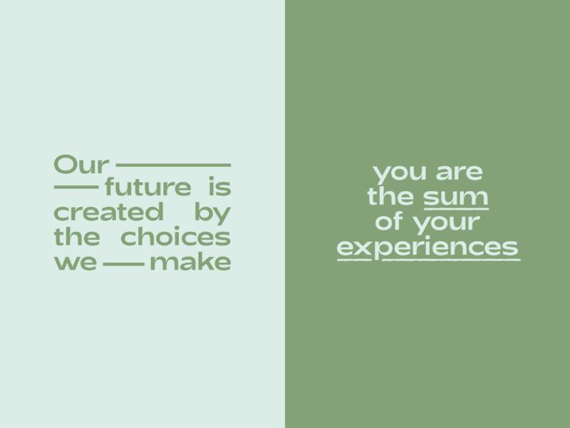 posi vibes quotes typography type