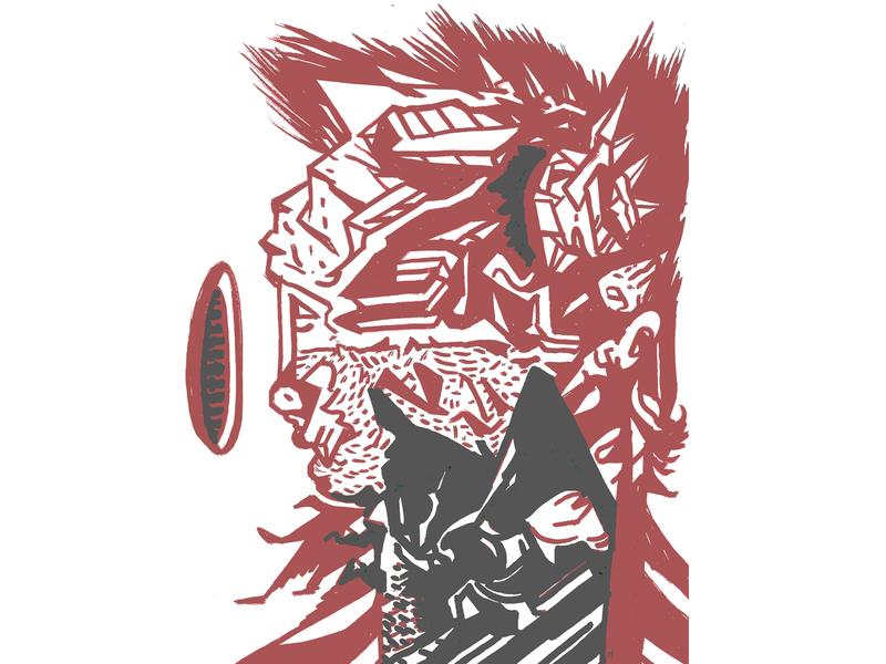 Cat Hearted Man ~ Sketchbook Vermillion 🔴