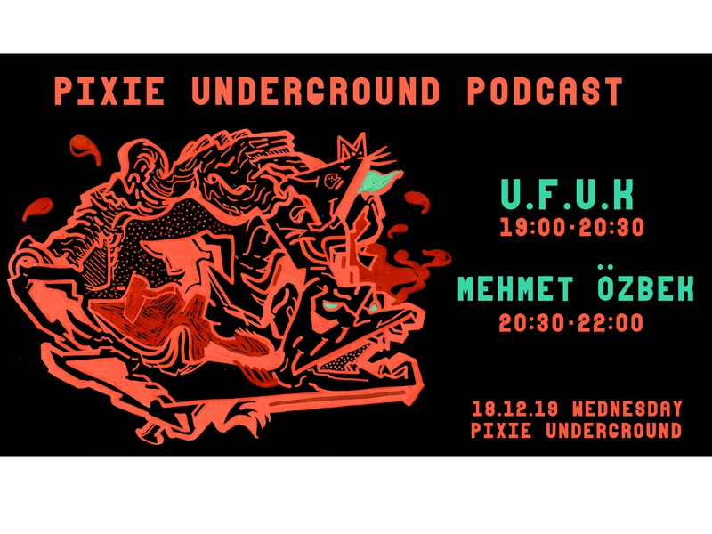 PIXIE Underground Gig Posters 12 graphic design graphicdesign graphic sketchbook pixie underground underground pixie gig posters gig poster gig colorful illustrator illustration