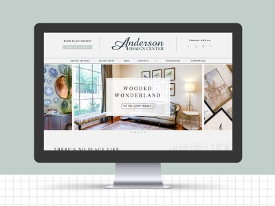 Anderson Website web website concept website design web design website