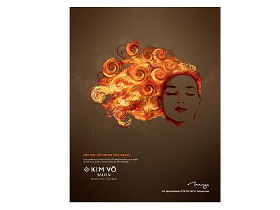 Kim Vo Salons Print Ad