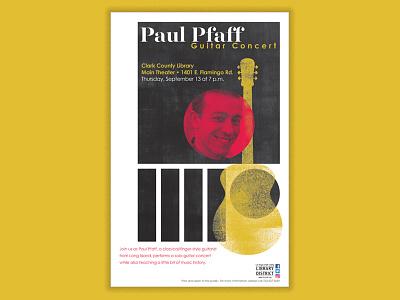 Paul Pfaff Guitar Concert