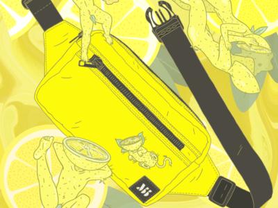 MuniBumBag Series - Yellow Muni