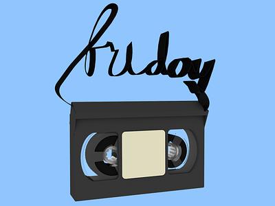 VHS Tape Render digitalart render school of motion vhs c4d cinema4d