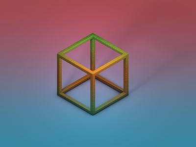 C4D Launch Isometric Cube cinema4d photoshop modeling digital art mographmentor c4d cinema 4d
