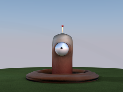 Practice Worm modeling animation cinema4d c4d