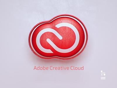 Adobe Creative Cloud adobe logo branding cgi cinema4d 3d art
