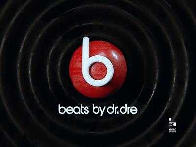 beats by dre logo 3d artist cinema4d beats logo design 3d art