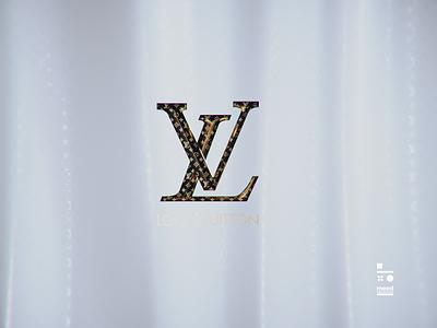Louis Vuitton Logo logo design louis vuitton logos cinema4d 3d art