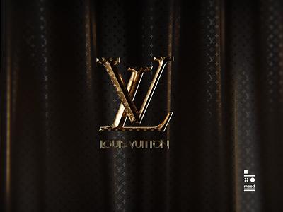 Louis Vuitton Logo cinema4d logos