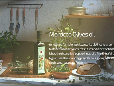 Moroccan Olives oil Still life 3d art cinema4d