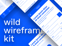 wild wireframe kit