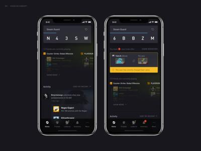 Steam App Redesign