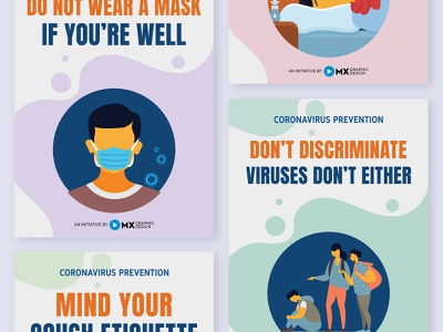 Coronavirus Prevention Posters by MX Player mx player posters corona posters coronavirus